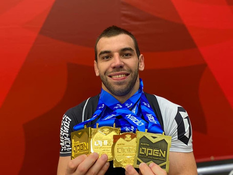 Pedro Rocha wins Double Gold at Austin Open