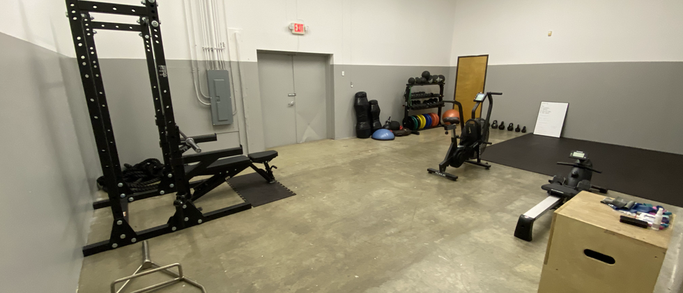 Fitness Class area