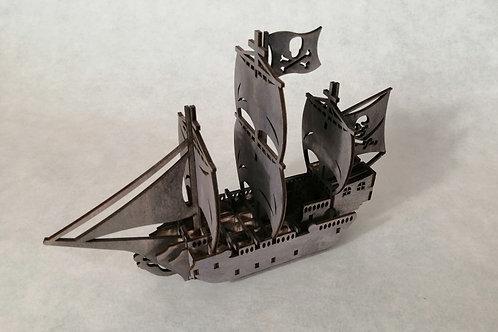 Конструктор Пиратский парусник в подарочной коробке