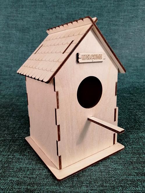 Домик для размножения попугаев