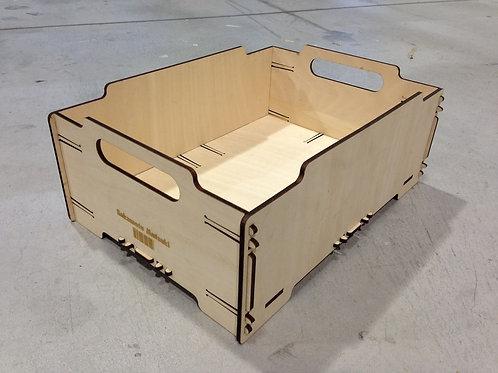 Ящик из фанеры быстросборный,многооборотный