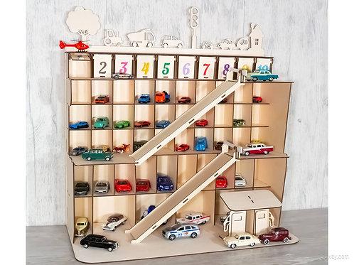 Парковка- гараж для игрушечных машин