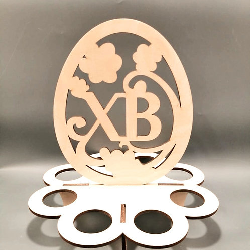 Подставка Пасхальное яйцо под 8 пасхальных яиц.