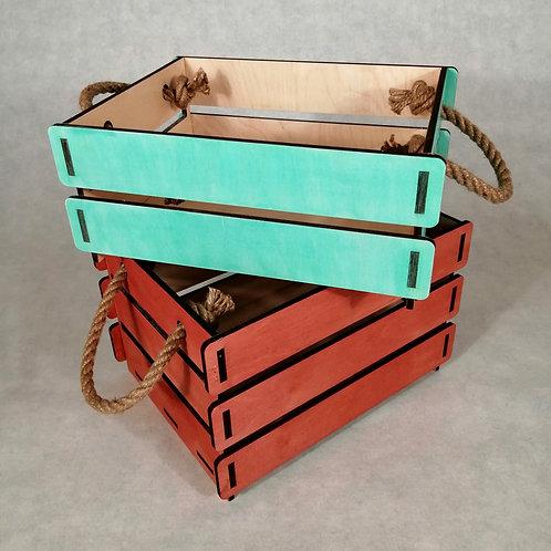 Ящики цветные