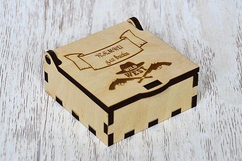 Камни для виски в стильной коробочке.
