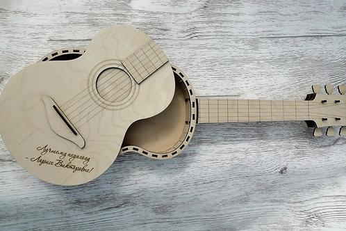 Шкатулка- гитара