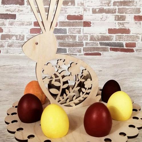 Подставка Кролик пасхальный  под  8 яиц