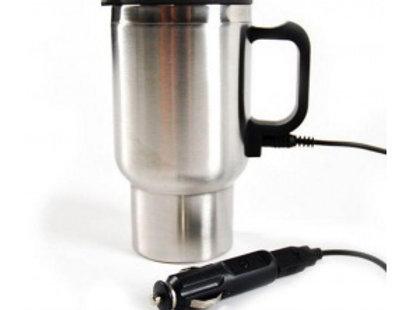 Кружка с подогревом от прикуривателя и USB