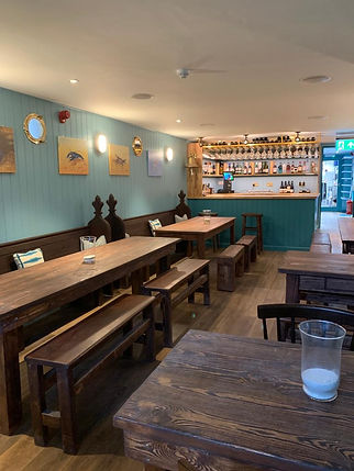 Our downstairs bar