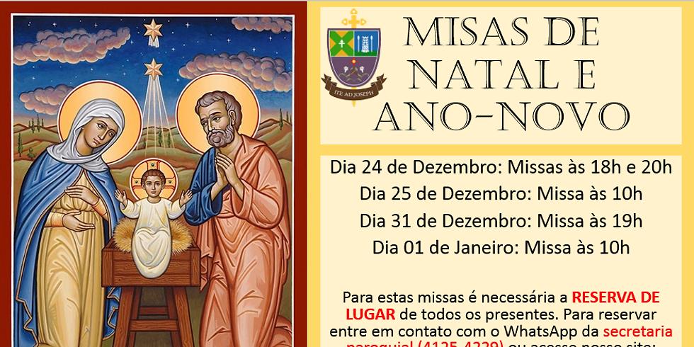 Missa de Natal 25 de dezembro 10h
