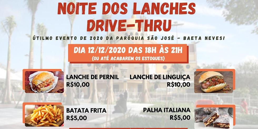 DRIVE-THRU  LANCHES PERNIL/LINGUIÇA