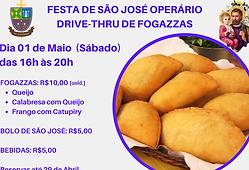 FESTA DE SÃO JOSÉ OPERÁRIO DRIVE-THRU DE
