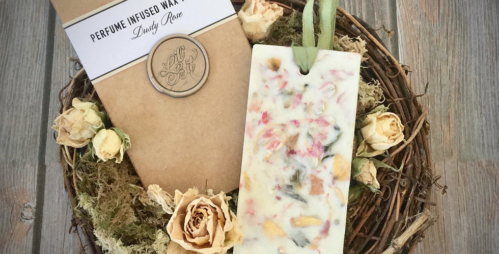 Dusty Rose Perfume Infused Wax Tablet