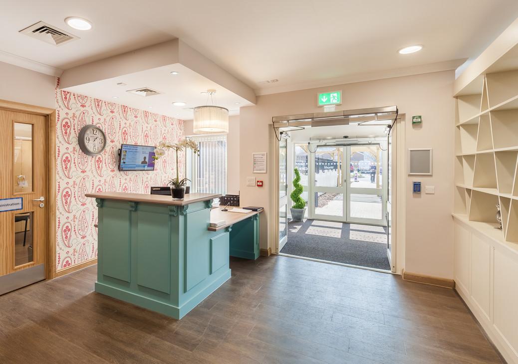 Sevenoaks Care Home - Care UK - Reception