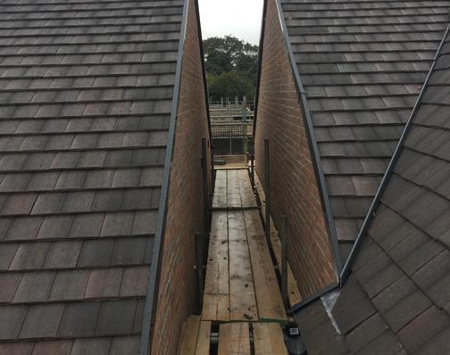 Ickleford Manor - Construction