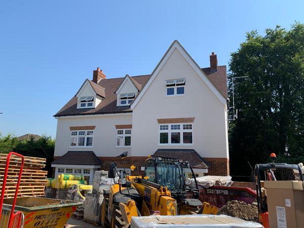 Salisbury Avenue, Harpenden - Construction