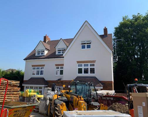 Salisbury Avenue - Construction