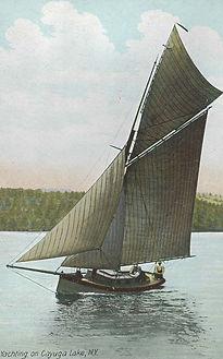 Yachting on Cayuga Lake