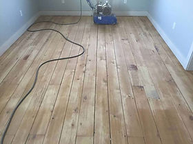 Original Flooring Used in Two Story Section of Farmhouse