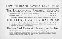 Rail Schedules to Sheldrake