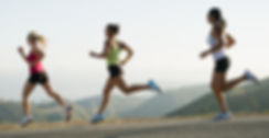 Running Athletic Women