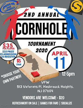 Copy of Cornhole Tournament - Made with