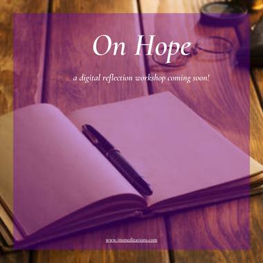 Reflecting on Hope