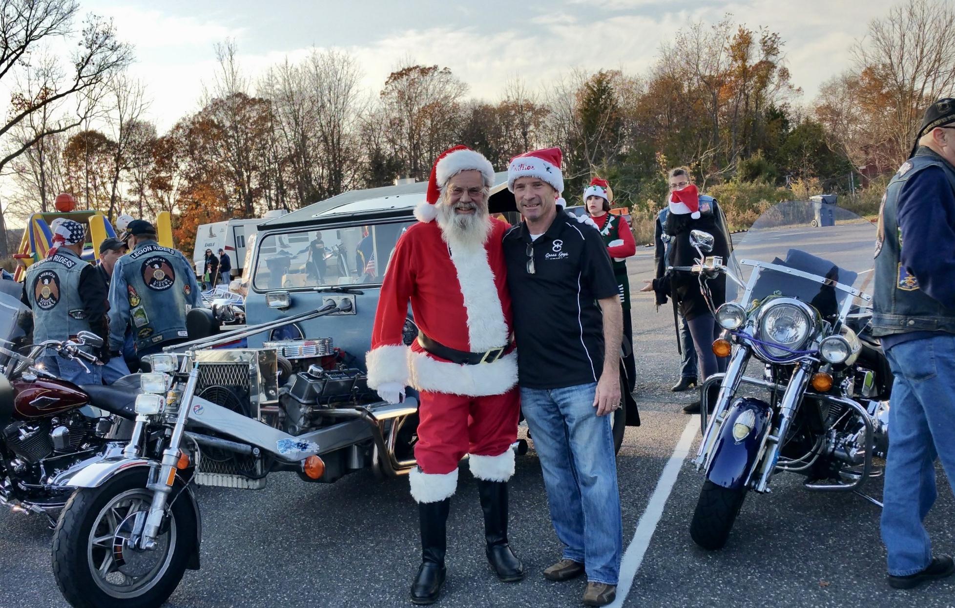 Santa & Don Kensey