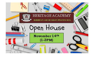 Open House - November 14th, 2019