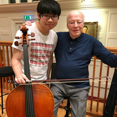 Rehearsing with Bernard Haitink