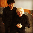 Post concert with Sir Simon Rattle