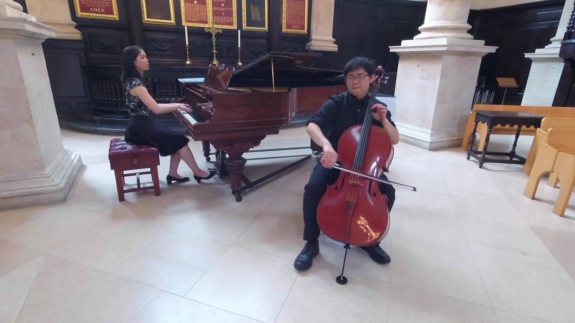 Jam with no planning at all as an encore after the Franck sonata with Constance at St Stephen Walbrook on Tuesday, probably my last performance in central London before moving back to HK soon.  星期二音樂會的即興Encore, please feel free to share ;)  Somewhere