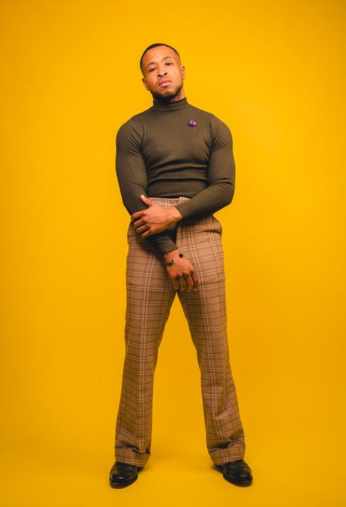 Model - Marvin Malone