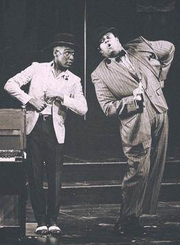 Model - Donterrio Johnson & Lorenzo Rush Jr.