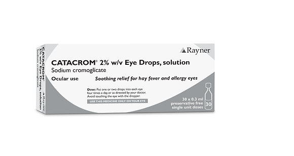 Catacrom 2% Eye Drops, solution