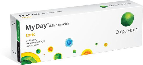 MyDay toric daily disposable - 30 Lenses