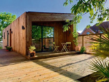 Inside the stunning eco house for homeless people built by prisoners