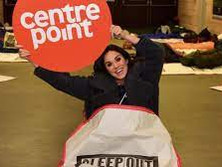 Geordie star Vicky Pattison stays up all night in youth homelessness challenge