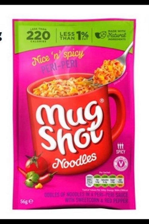 Peri-peri mug shot noodles