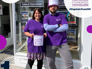 £755.60 raised by Homes Partnership for Crawley Open House