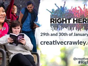 It's the Creative Crawley Festival Week