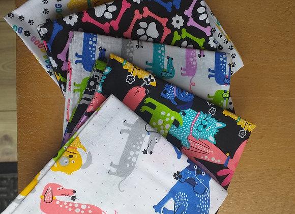 Fabrics - Dogs Love Bones
