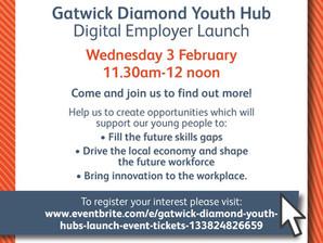 'Gatwick Diamond Youth Hub' - Launch Event
