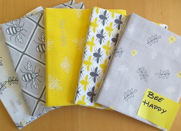 Fabrics - Bee Happy