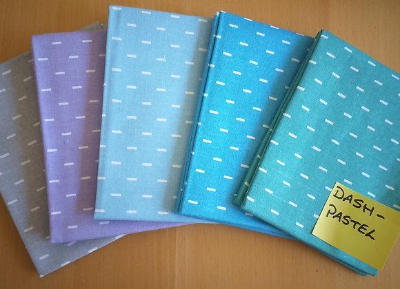 Fabrics - Dash Pastel