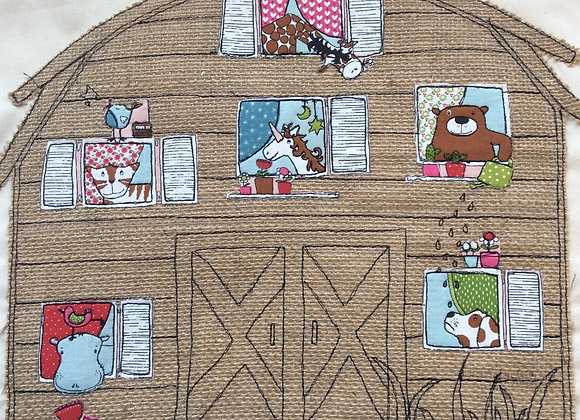 Home Sewing Kit - Rustic Barn Panel Kit