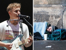 Sam Fender sets up petition to back North East homeless charity fight