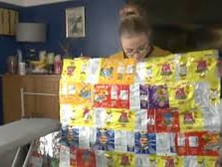Crisp packets turned into blankets for the homeless in Lewisham