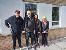 Ex-homeless group take on Couch to 5K challenge for Bridgend charity