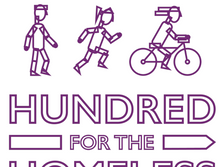 Take our 'Hundred for the Homeless' Challenge